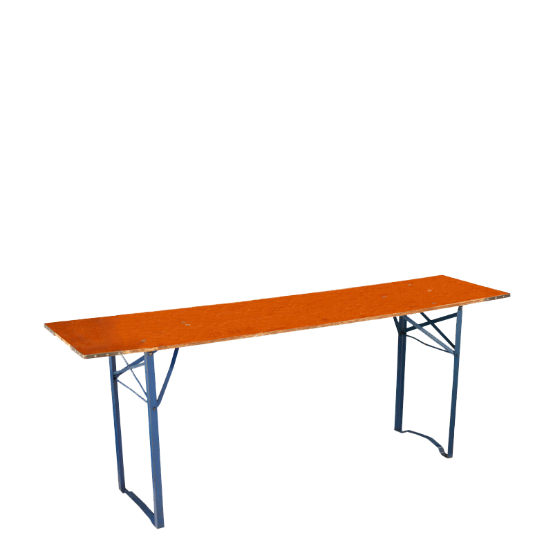 Trestle Table H72 - 50 X 200 cm