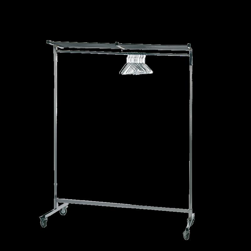 Coat Rail H177 X L150 cm (with 50 Hanger)