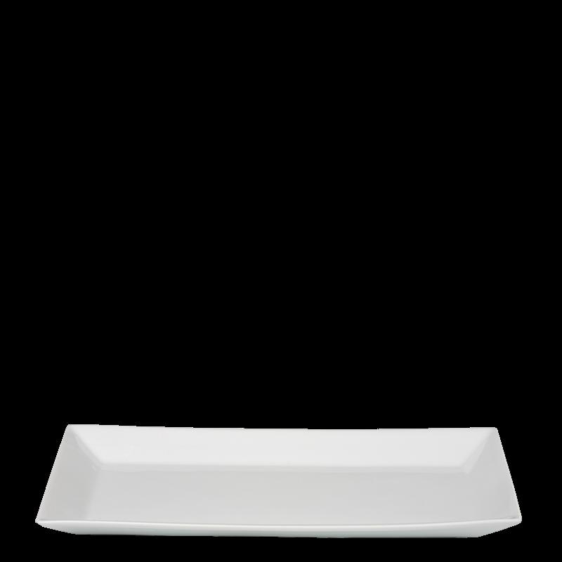 Rectangular Fuji White 12 X 24 cm