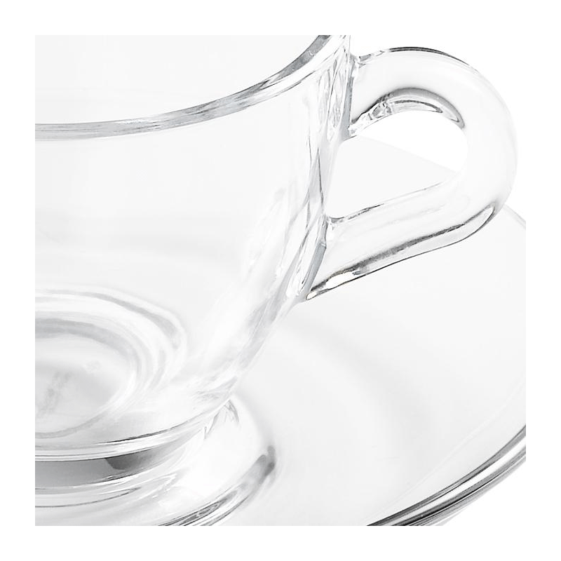 Vague coffee cup and saucer 7 cl