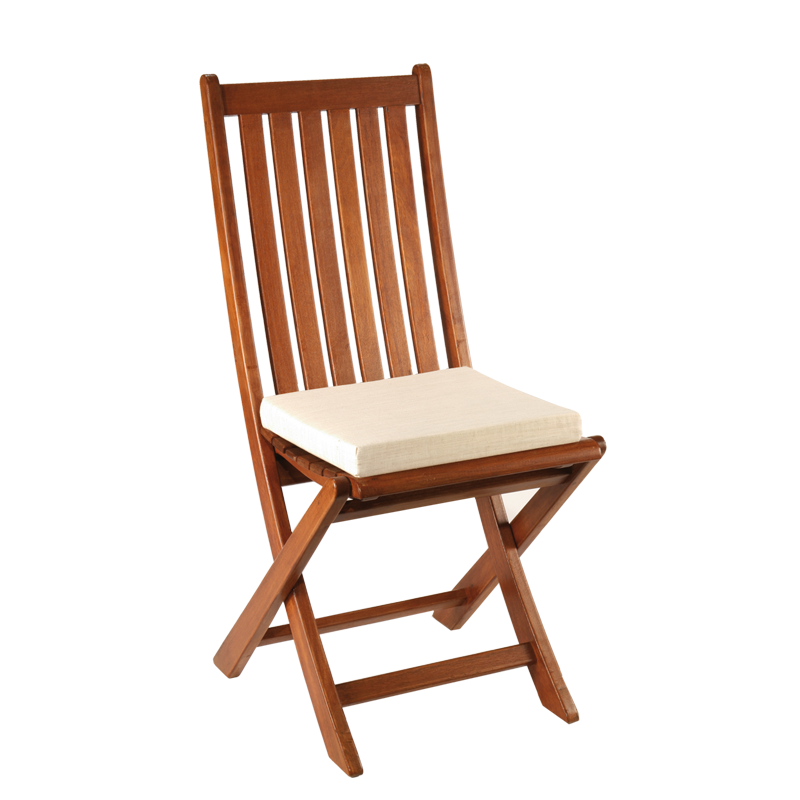 Louisiana Chair with Linen Colour Seat Cushion