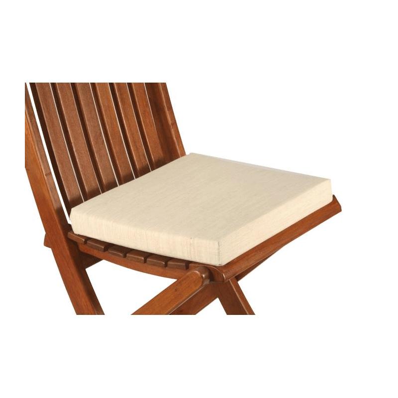 Louisiana Chair with Linen Colour Seat Cushion