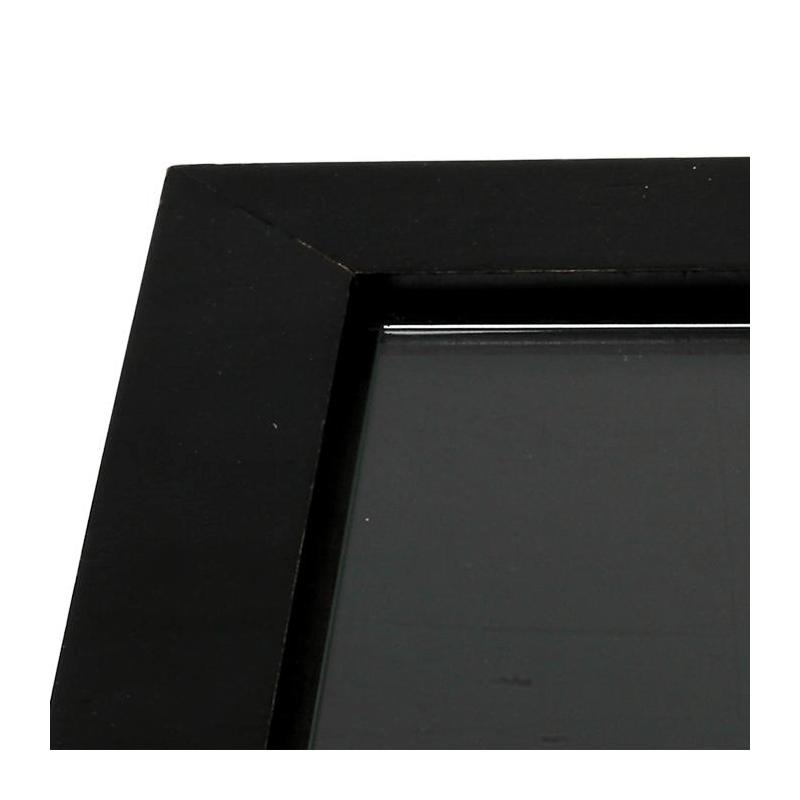 Cedar Tray 30 X 40 cm with Glass Board 24 X 36 cm