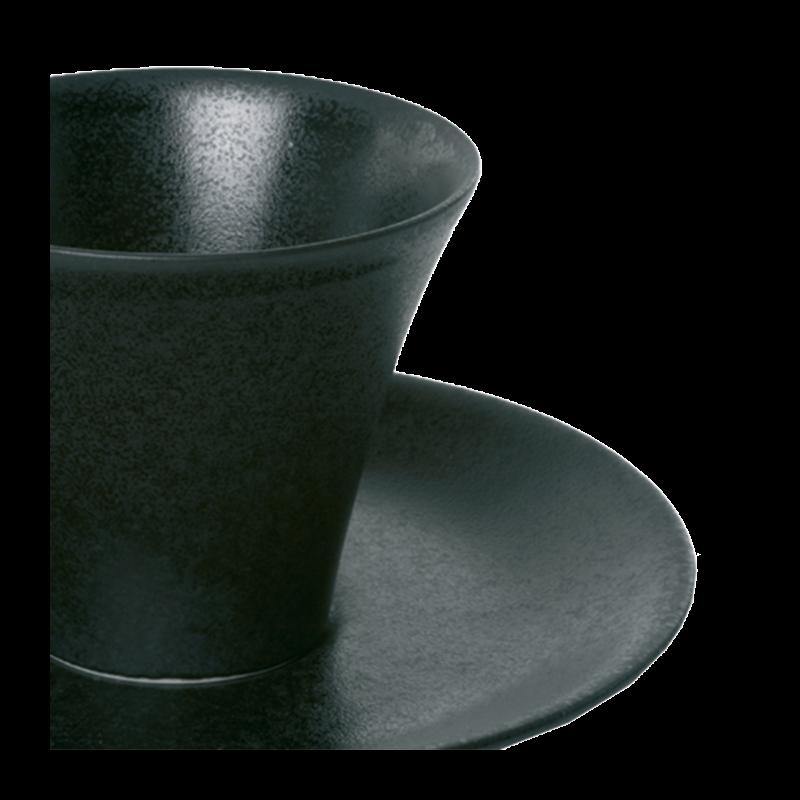 Kyoto Cup Black Ø 7.5 X 6.5 cm 11 cl