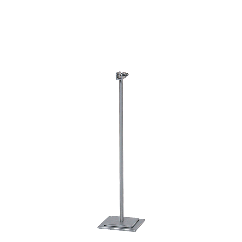Steel Grey Table Number Stand H 31cm