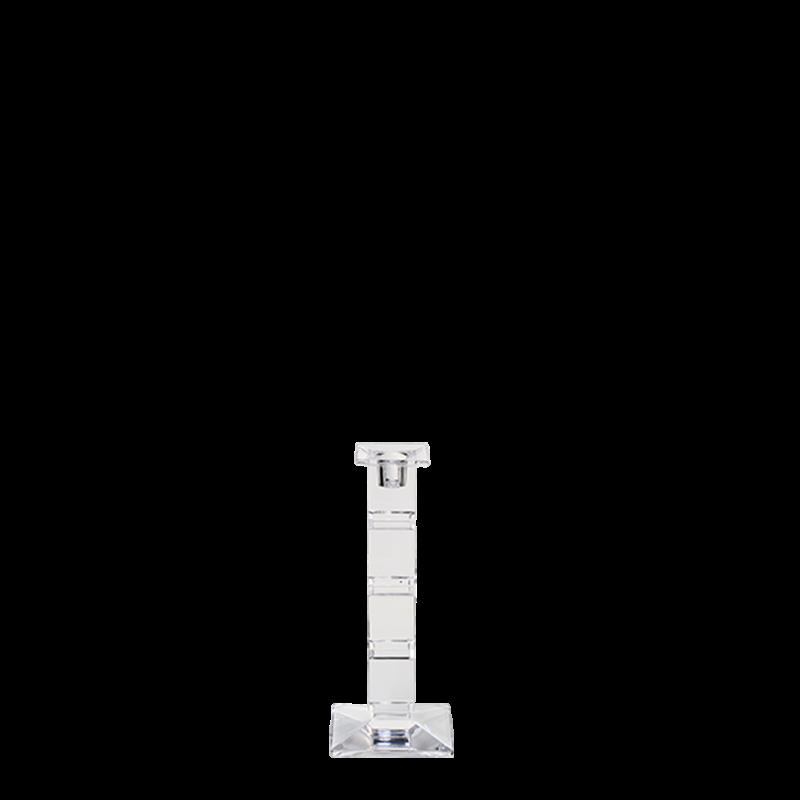 Cube Candlestick H 21 cm