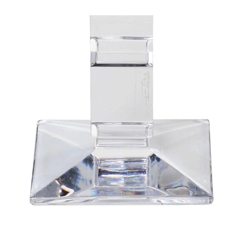 Cube Candlestick H 25 cm
