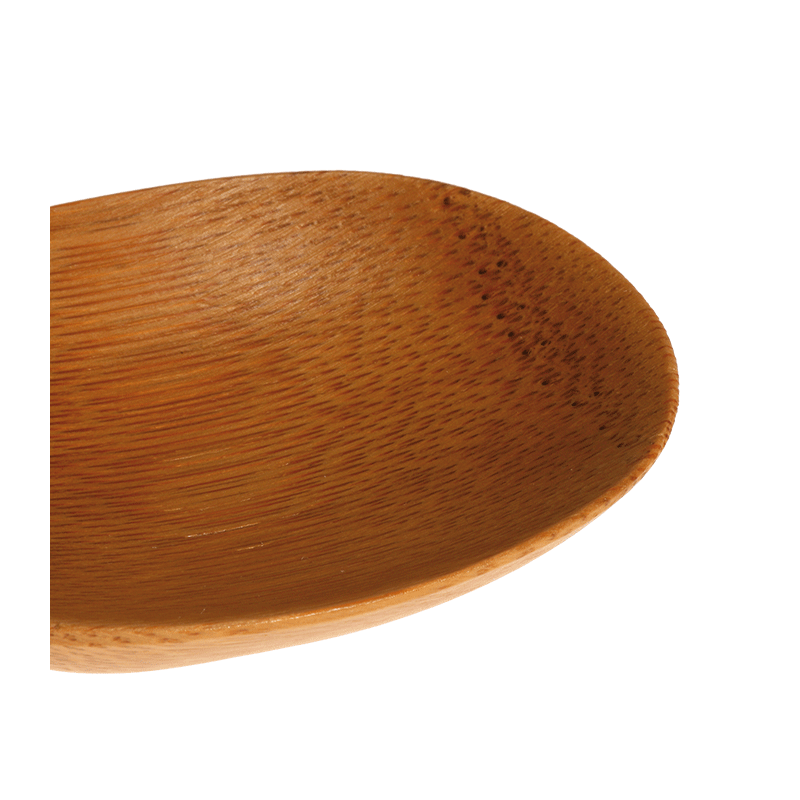 Bamboo Oval 7,7 X 6,3 cm
