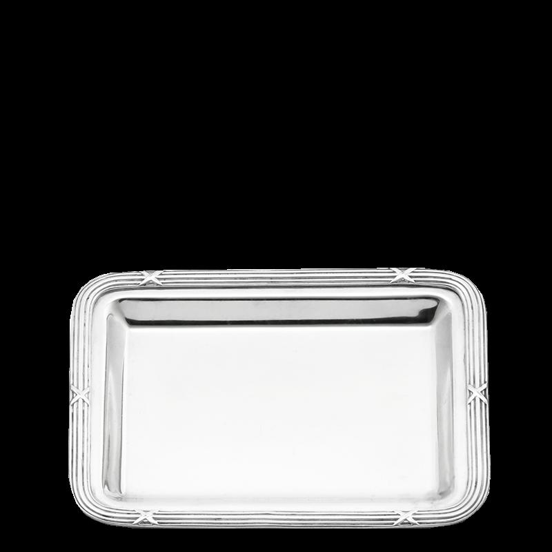 Louis Xiv Tray Silver 17 X 22 cm