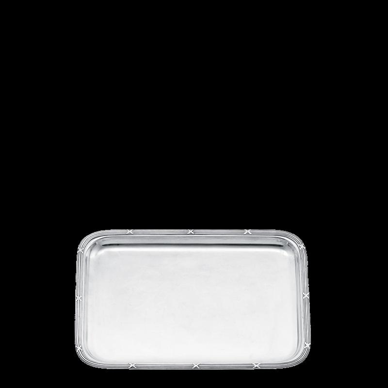 Louis Xiv Tray Silver 30 X 40 cm