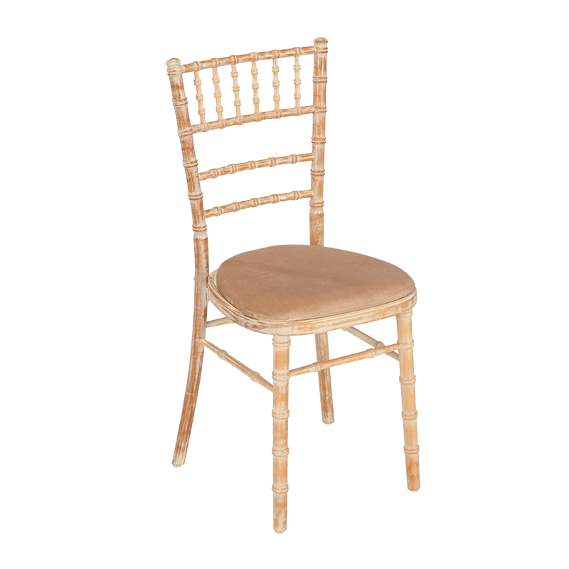 Bamboo chair in Limewash