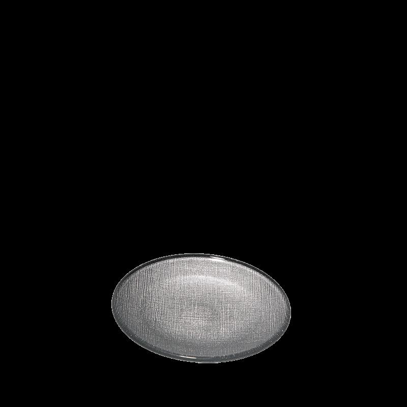 Strass Bread Plate Silver Ø 14 cm