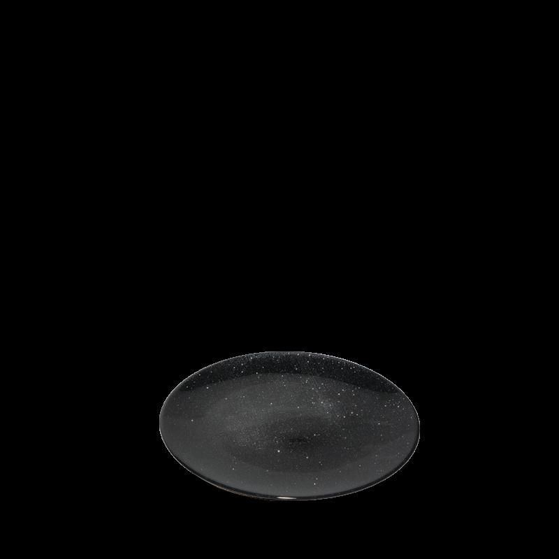 Strass Bread Plate Black Ø 14 cm