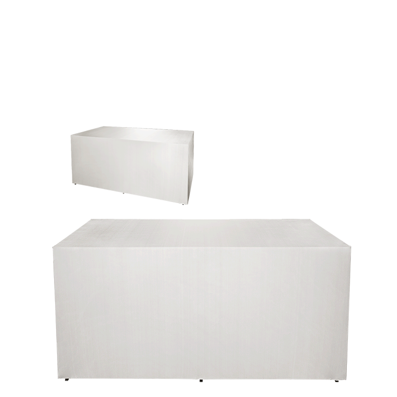 Folding Food Station White Cover 'Stand Alone' 4 Sides