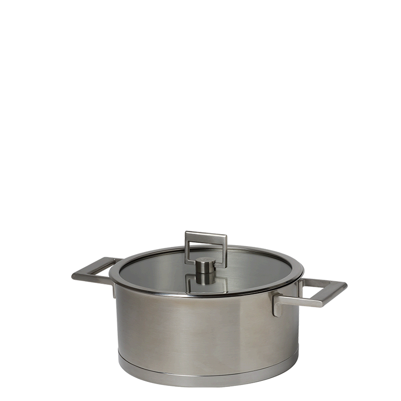 Equinox saucepan Ø 24 cm 510 cl and its see through top
