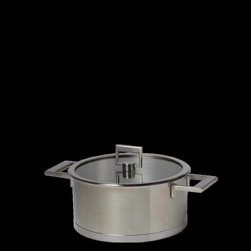 Equinox saucepan Ø 24 cm 510 cl and its see through top