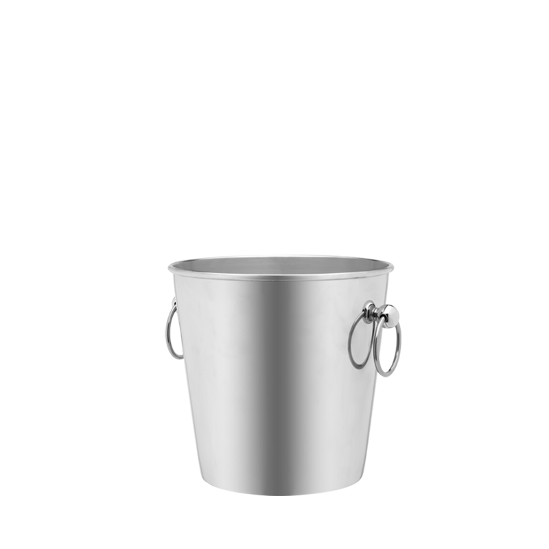 Equinox Stainless Steel Ice Bucket Ø 14 cm H 13 cm