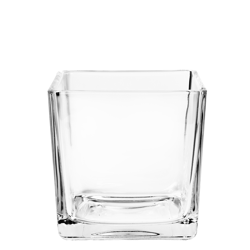 Glass container 10 x 10 cm 57 cl