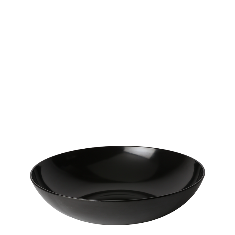 Resin Serving Bowl Black Ø 46 cm 1080 cl