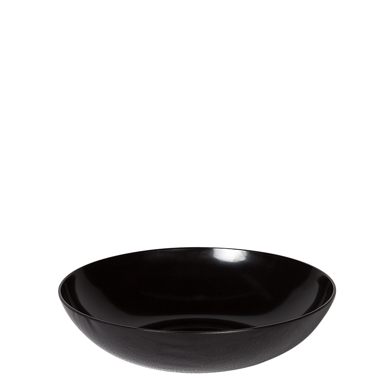 Resin Serving Bowl Black Ø 60 cm 2520 cl