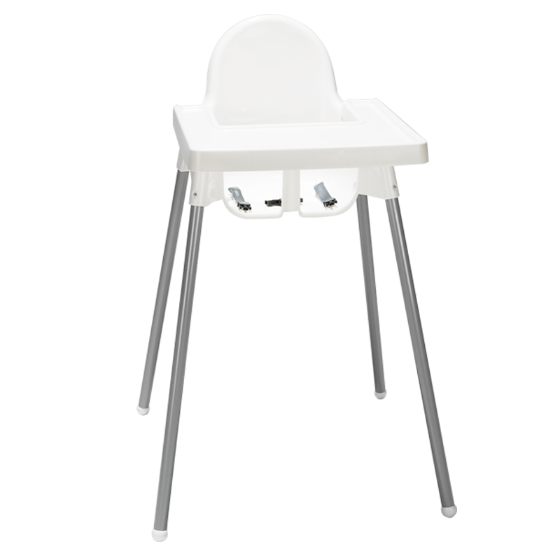 Baby high chair H 35.43""