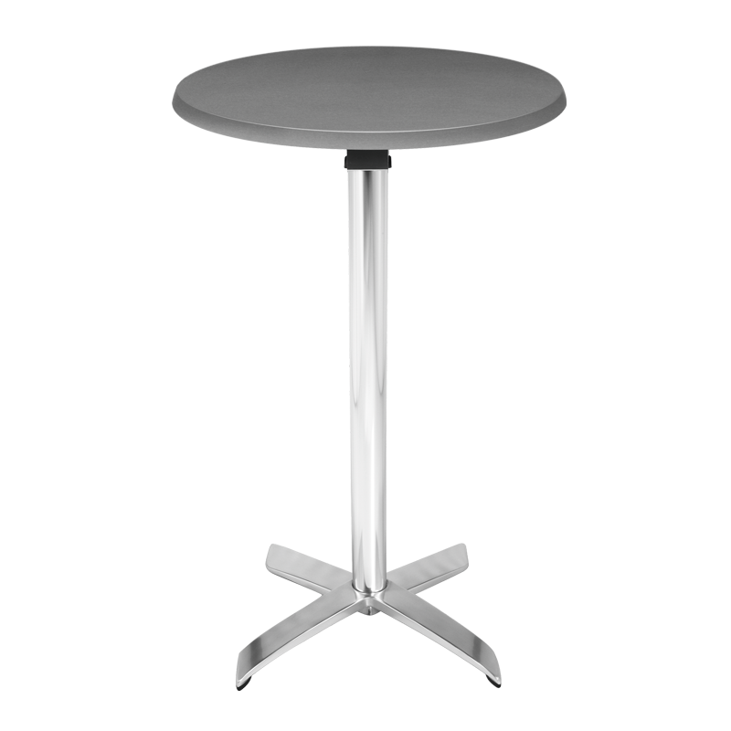 Round Poseur Table (Steel) H 111 cm Ø 60 cm