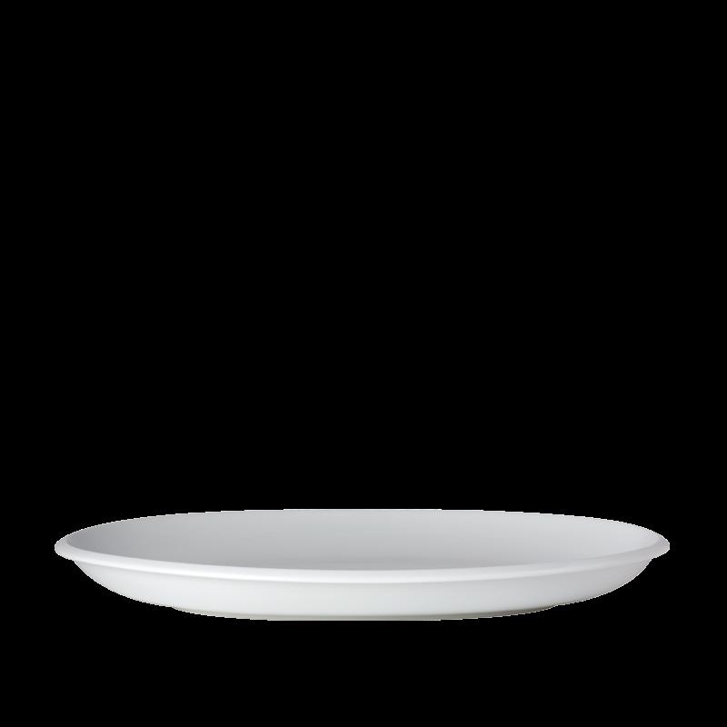 Porcelain oval dish 31 x 45 cm
