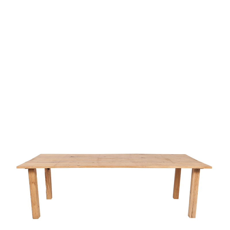 Nature Table In Oak 240 X 100 cm H 73 cm