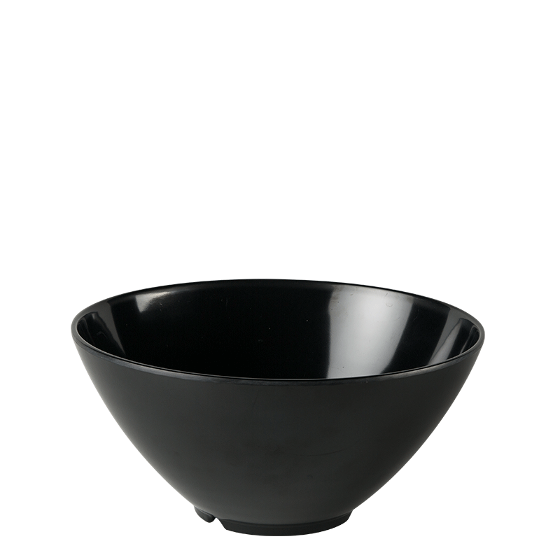 Resin Serving Bowl Black Ø 28 cm H 15,5 cm 380 cl