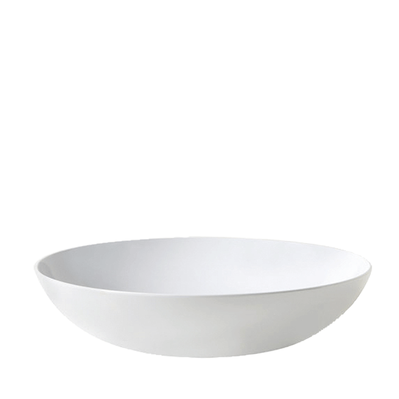 Resin Serving Bowl White Ø 46 cm 1080 cl