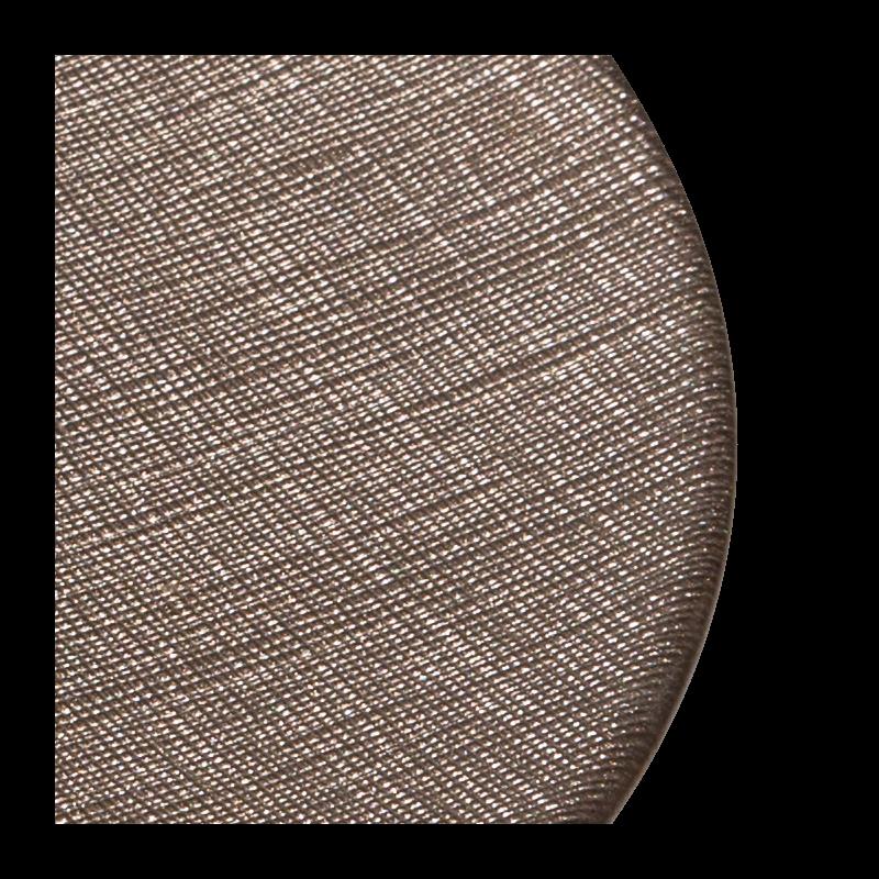 Glass Presentation Plate Taupe Ø 32 cm