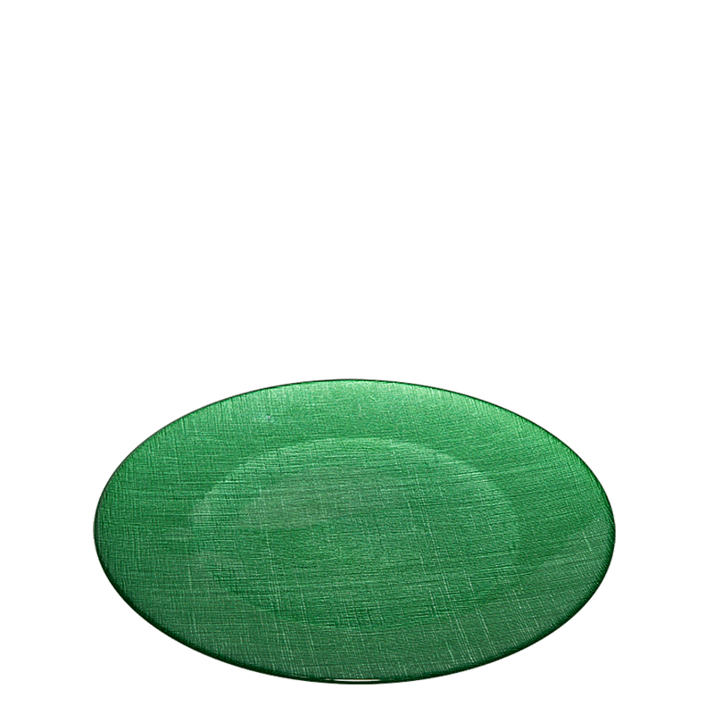 Presentation Plate Green Ø 32 cm