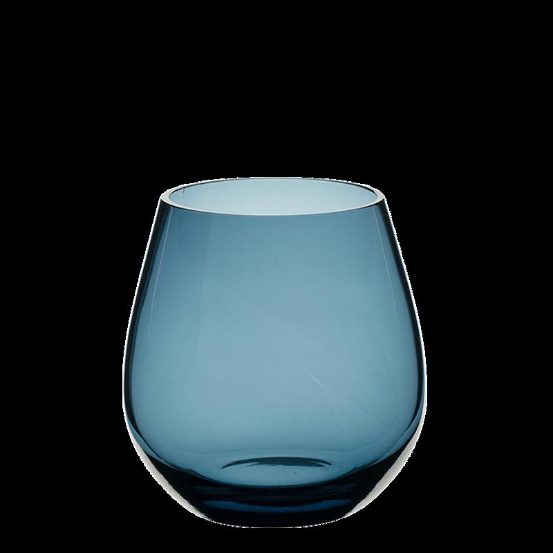 Moon Tumbler Blue Ø 9 cm H 6,5 cm 32 cl