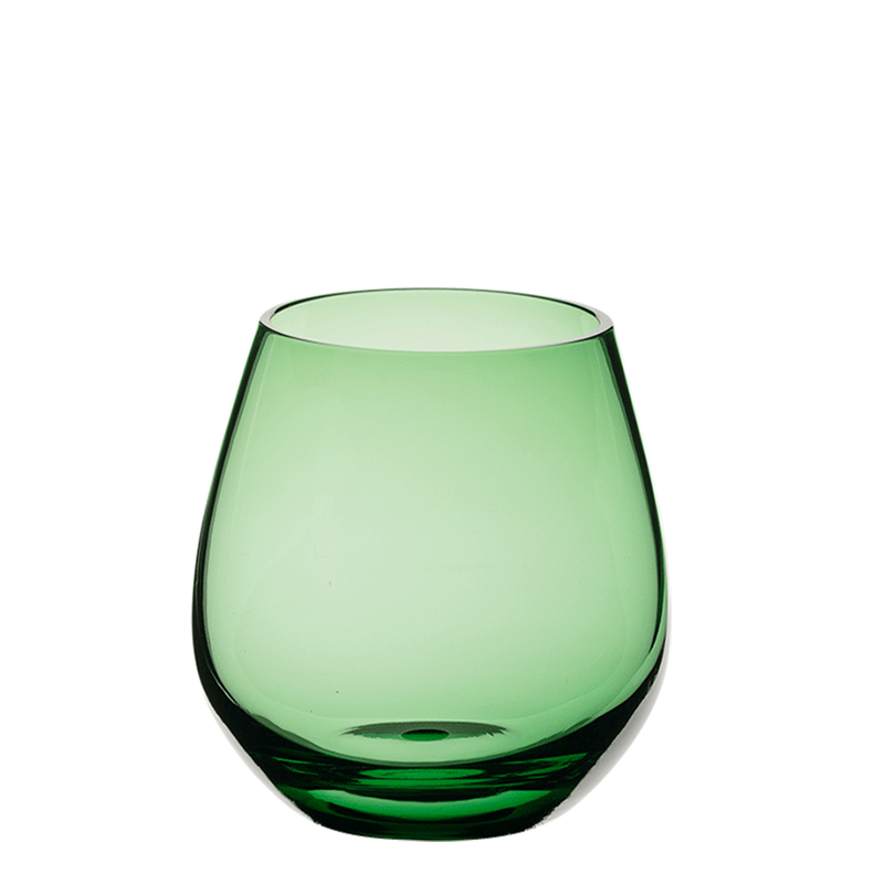 Moon Tumbler Green Ø 9 cm H 6,5 cm 32 cl