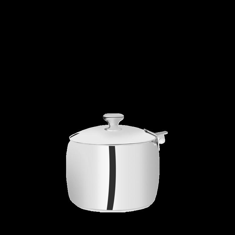 Neptune sugar bowl silver