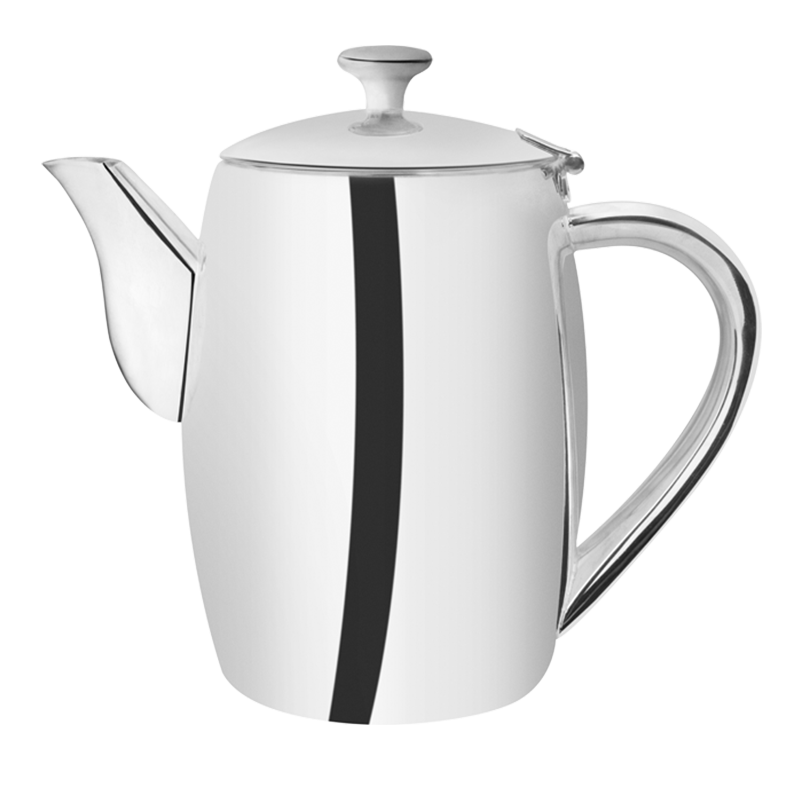 Neptune coffee pot silver 100 cl