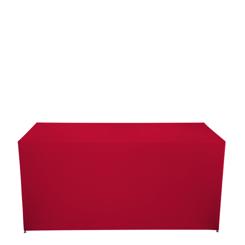 Folding Food Station Red Cover 3 Sides  L200 X W100 cm