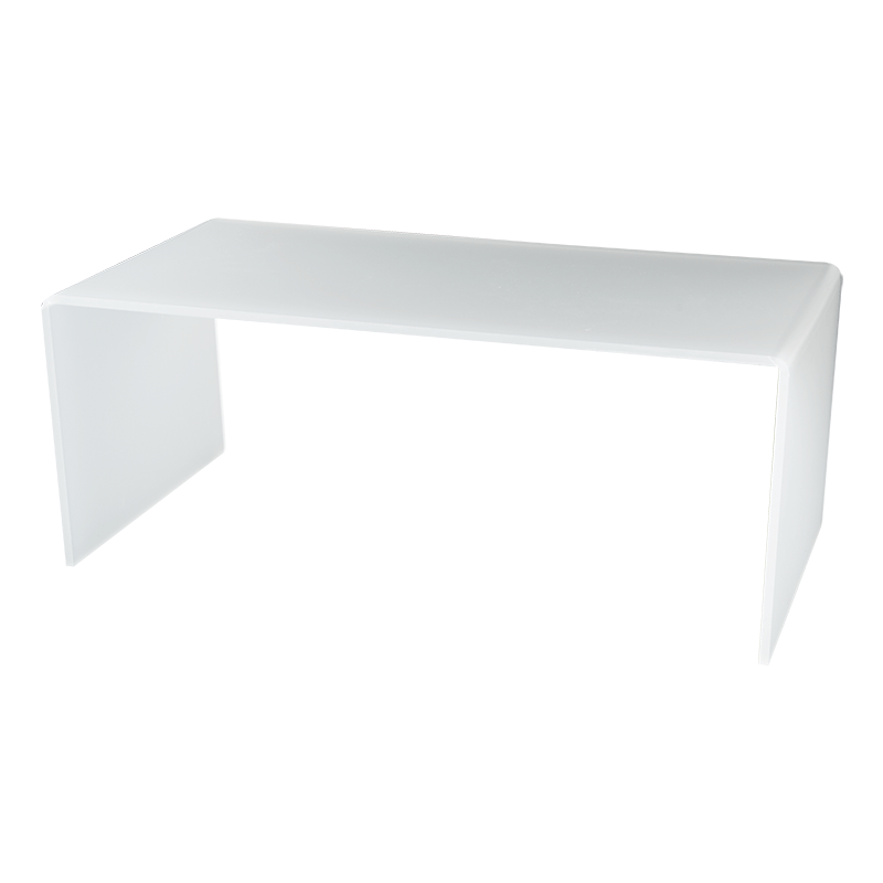 Set Of 3 Nested White Risers