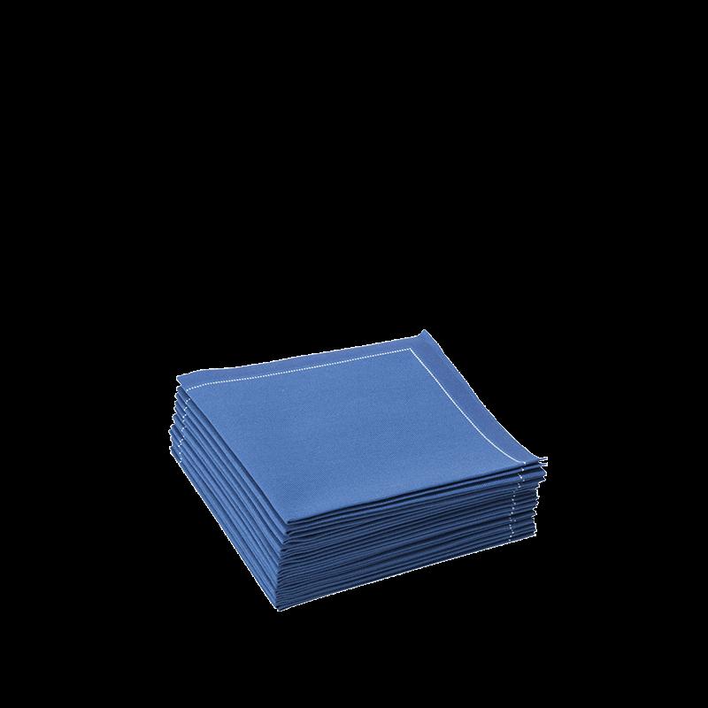 Cocktail Napkin Blue Prefolded 20 X 20 cm (Pack Of 30)