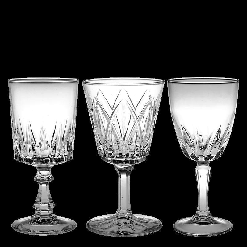 Vintage cristal water glass