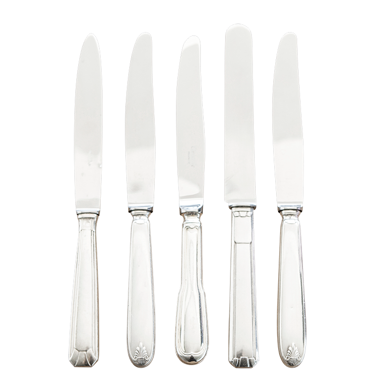 Silver Vintage table knife