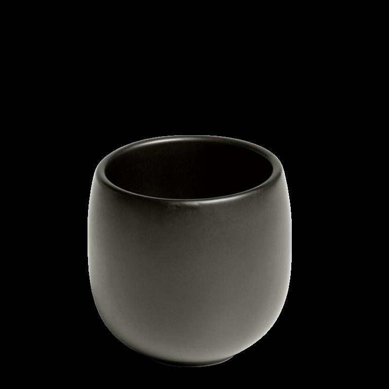 Ato Bowl Black Ø 6,5 cm H 7,5 cm 18 cl