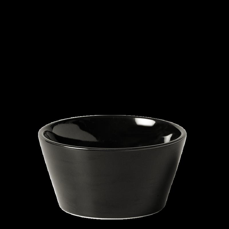 Basque Bowl Black Ø 10,5 cm H 5,5 cm 24 cl