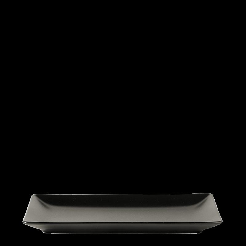 Rectangular Fuji Black 15 X 25 cm
