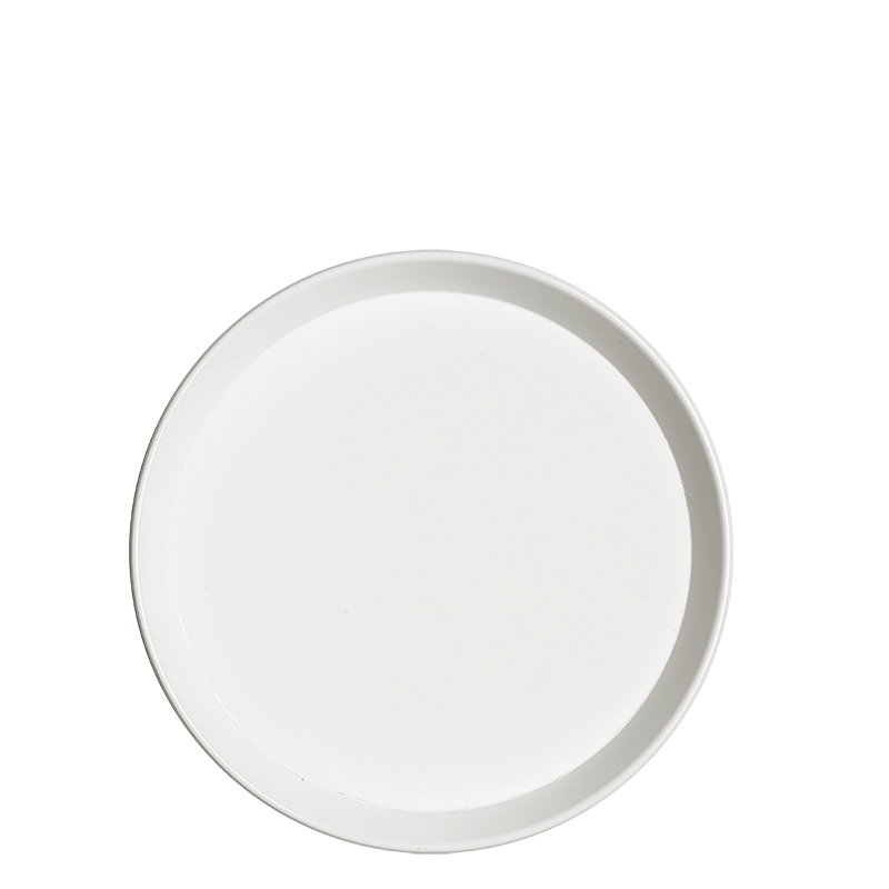 White non-slip serving tray Ø 39,5 cm H 3 cm