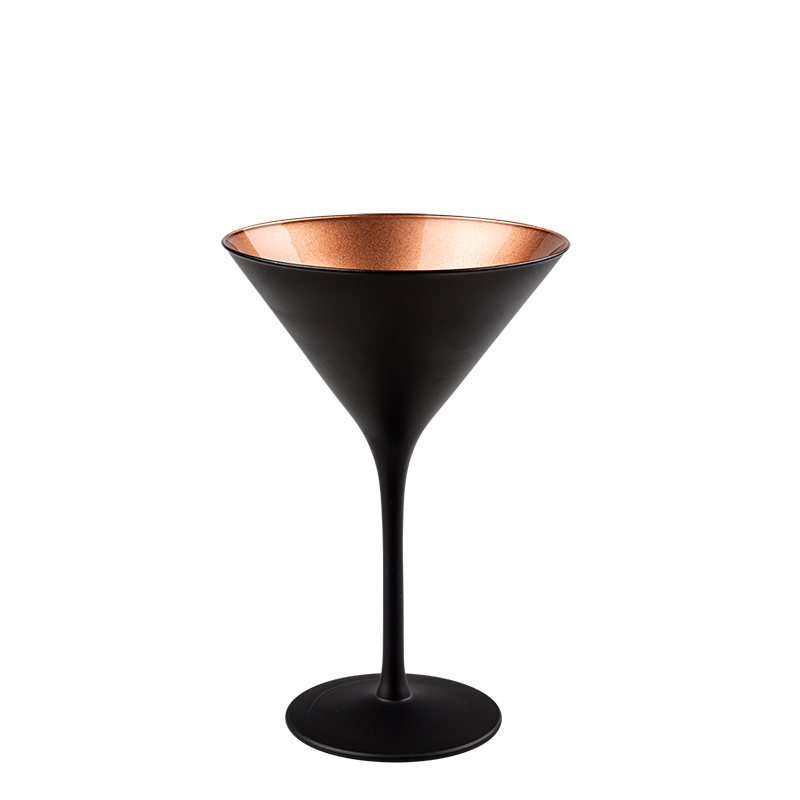 Copper Martini Glass 24 cl