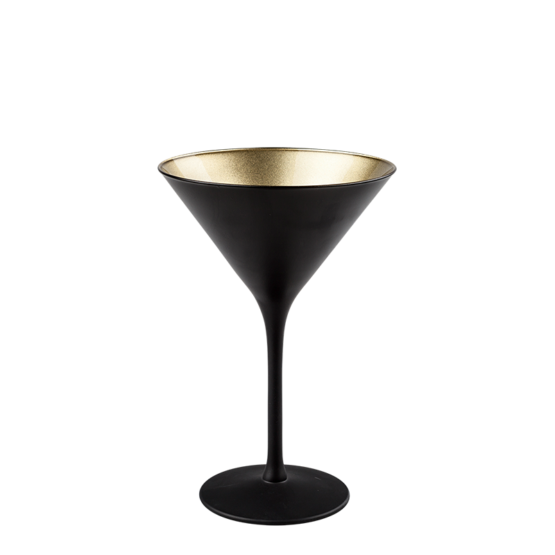 Gold Martini Glass 24 cl