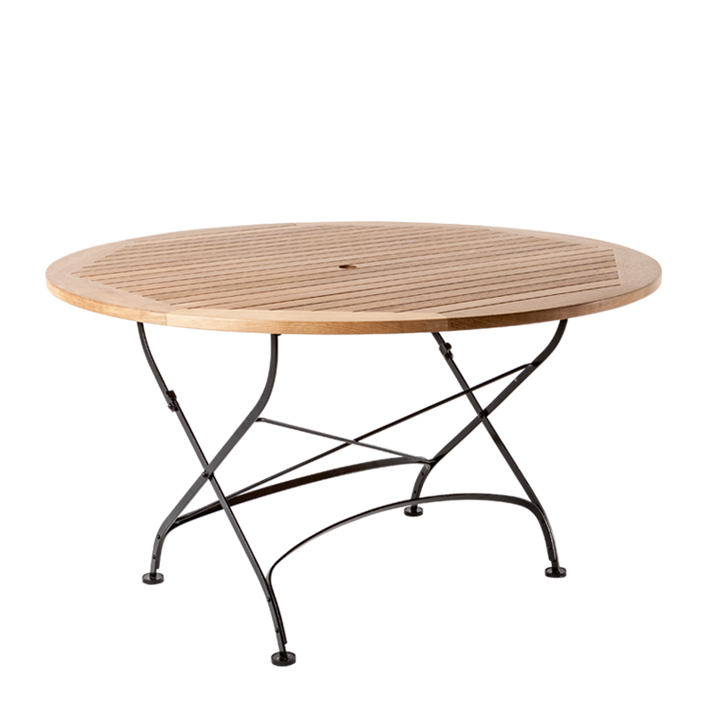 Wood Round Table Ø 135 cm H 75,5 cm