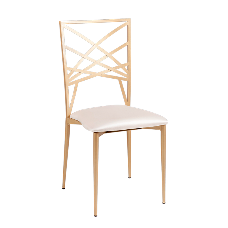 Beverly chair with cream seat pad