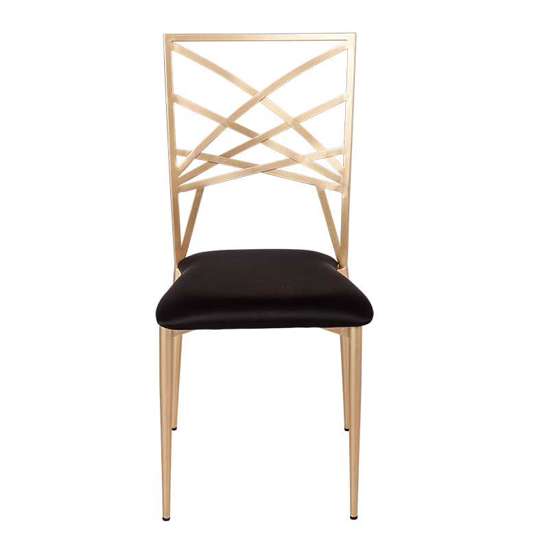 Beverly chair with black seat pad